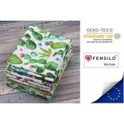 Hydrofiele Doeken - Hydrofiele Luiers - 70 x 80 cm - 10 pack - Groen- Standard 100 by Oeko-tex® - Fensilo