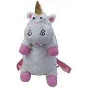 N/D Peluche 50 cm Despicable Me Unicorn Bag Mochila Unicornios de Peluche Mochila Juguetes para niñas Niños Regalo de cumpleaños Mochilas Lindas