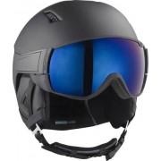 Salomon Casque Salomon Driver Visor - Lens de ski (Noir)