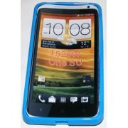 Силиконов гръб ТПУ за HTC One SU Син
