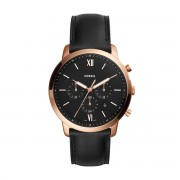 Часовник FOSSIL - Neutra Chrono FS5381 Black/Rose Gold