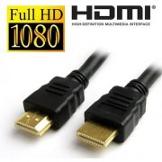 HDMI Cable (10 Ft/ 2.5 M) 1080P High speed Gold Plated Plug Male-Male 1.4 V HD Cable For 3D 4K HD 1080P