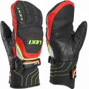 Leki Junior Mitten Worldcup Race Flex S black/red