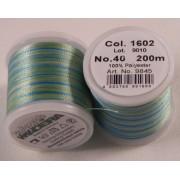 Madeira Polyneon policolor műszálas cérna 200m, No.40 - 1602