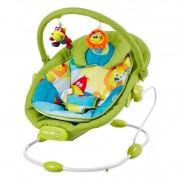 Baby Mix rezgős pihenőszék zöld színben