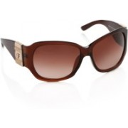 Gianfranco Ferre Over-sized Sunglasses(Brown)