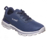 MR.SHOES WX0352-3 NAVY PERFORMANCE MEN'S GO WALK 3 FITKNIT LACE-UP WALKING SHOE