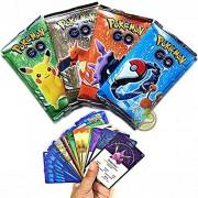 Day Pokemon Trading Card Game- 5 Packs (Random) - Basic Cards (Non Licensed)