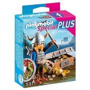 PLAYMOBIL Viking with Treasure Playset