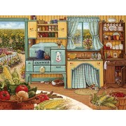 White Mountain Puzzles Country Kitchen Jigsaw Puzzles