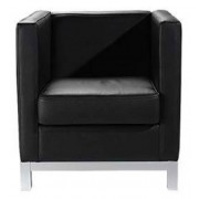 Fotelja Eurosalon Geometrico/N koža 65X65X70, 2025709