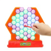 Save The Bee Knock Down Building Blocks Beating Honeycomb Party Board Game Toy Kids Adults Friends Gift