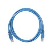 CABLE DE RED UTP CAT.5E CONDUNET/ 24 AWG/ CONDUCTOR MULTIFILAR/ 2 MTS/ EMP. INDIVIDULA/ COLOR AZUL