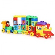 Virgo Toys Play blocks Number train set