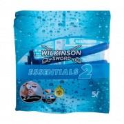 Wilkinson Sword Essentials 2 5 ks jednorázová holítka pro muže