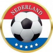 Nederland voetbal onderzetters/bierviltjes - 75 stuks - Nederlands voetbal feestartikelen