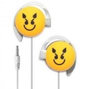 Start Auricolare A Filo Stereo Smile-10 Headphones Jack 3,5mm Universale Per Musica Yellow Per Modelli A Marchio Zte