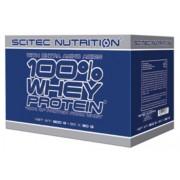 100% Whey protein BOX 30 tasak MIX Scitec Nutrition