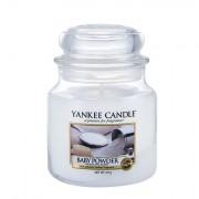 Yankee Candle Baby Powder vonná svíčka 411 g