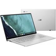 ASUS Chromebook Flip C434TA-AI0296 Zilver 35,6 cm (14'') 1920 x 1080 Pixels Touchscreen Intel® Core™ M 8 GB LPDDR3-SDRAM 128 GB eMMC Chrome OS