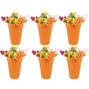Wonderland (pack of 6) 32cms H pp in Orange