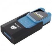 Флаш памет Corsair Voyager Slider X2 USB 3.0 32GB, Blue Housing, Read 200MBs - Write 90MBs, Capless Design, Plug and Play, Син - CMFSL3X2-32GB