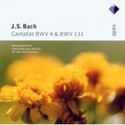 Monteverdi Choir - J.S. Bach: Cantatas BWV 4 & 131 (CD)