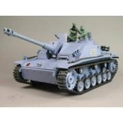 Heng Long - Tank - Sturmgeschutz III - 1:16 - V.G - R&S + IR Toren