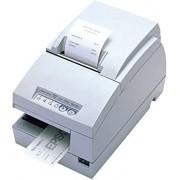 Epson Tm-u675 Dot Matrix Receipt Slip & Validation Printer Usb No Display Module/Hub Port-Cool White No Micr No Autocutter (Renewed)