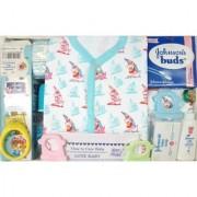 Love Baby Gift Set - Sapna Blue White