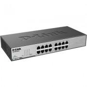 D-Link DES-1016D - 16-Port бърз Ethernet неуправляем десктоп суич