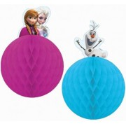 Vegaoo Set 2 Frozen decoraties One Size