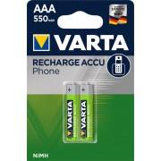 Baterija Varta Professional Phone Accu HR03 550mAh