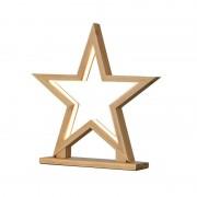 Star decorative light Lucywood bamboo height 33 cm