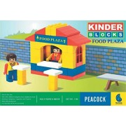 Peacock Kinder Blocks Food Plaza