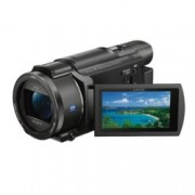 "Видеокамера Sony FDR-AX53, 4K UHD, 3.0"" (7.62cm) LCD, 20x оптично мащабиране, SD/SDHC/SDXC, Multi/Micro USB, HDMI (micro), Wi-Fi, NFC"