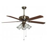 KlassFan Purline By Klassfan, Toureillo A Classic Ceiling Fan Blades Oak / Magahoni 152 Cm, With Led Light