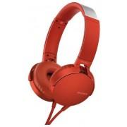 Casti Stereo Sony MDR-XB550APR, Extra Bass (Rosu)