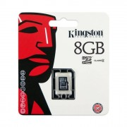 Kingston memoria 8GB microSDHC Class 4 Flash Card Single Pack w o Adapter