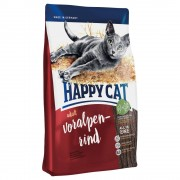 Happy Cat Adult con vacuno de los Alpes - Pack % - 2 x 10 kg