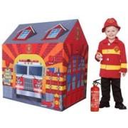 Cort De Joaca Pentru Copii Statia De Pompieri