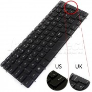 Tastatura Laptop Dell V128725AS1 iluminata layout UK + CADOU