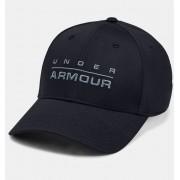 Under Armour Men's UA Wordmark Stretch Fit Cap Black M/L