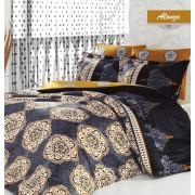 Lenjerie de pat, Majoli Bahar Home Collection, material: 100% bumbac, 110BHR2459
