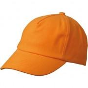 Myrtle Beach Kinder petjes in oranje kleur