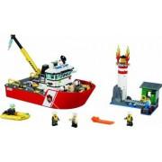 Set Constructie Lego City Salupa De Stins Incendii