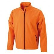James & Nicholson Oranje polyester heren wind jasje
