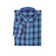 Gant Košile Gant Tb.Windblown Plaid B.D. Shirt modrá 146/152