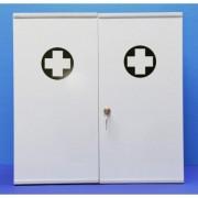 Prorisk Armoire infirmerie métal 2 portes vide 530.000000