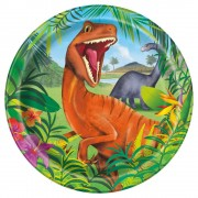 Dinosaur Party Plates (Pack of 8)